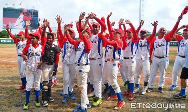 ▲U12世界盃,U12古巴。(圖/記者顏如玉攝)