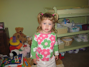 Photo: Leah with bangs on her birthday -- Nov. 17, 2008