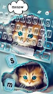 Cute Kitty Keyboard Theme 1.0 APK with Mod + Data 2