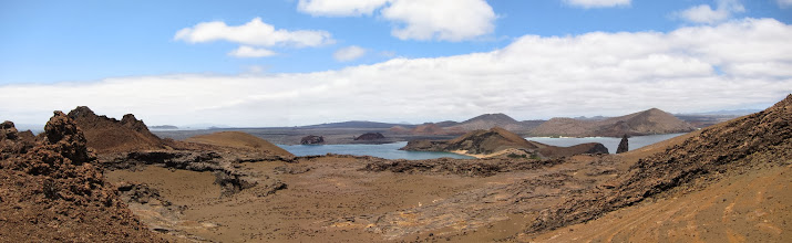 Photo: Bartolome Island panorama