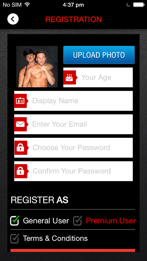 SIZZEL - Gay App- screenshot