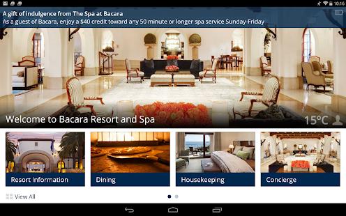 Bacara Resort and Spa screenshot