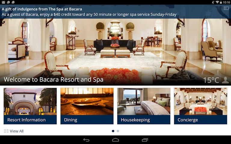 android Bacara Resort and Spa Screenshot 3