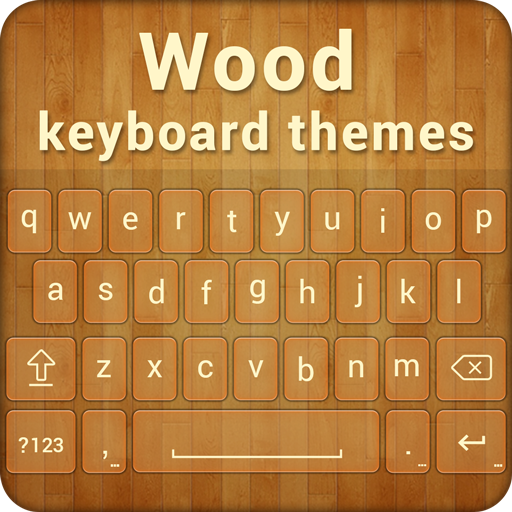 Wood Keyboard Theme 生活 App LOGO-硬是要APP