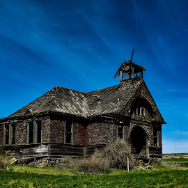Govan Scoolhouse by Terry Oviatt - Buildings & Architecture Decaying & Abandoned