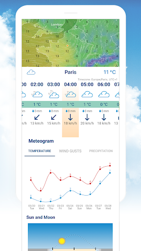 Ventusky: Weather Maps screenshot 2