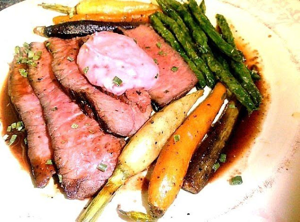 Nancy's Grilled Berry London Broil Sunday Dinner Recipe
