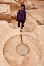 Photo: Circular altar