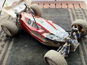 Photo: Jannen auto treenien jäljiltä...