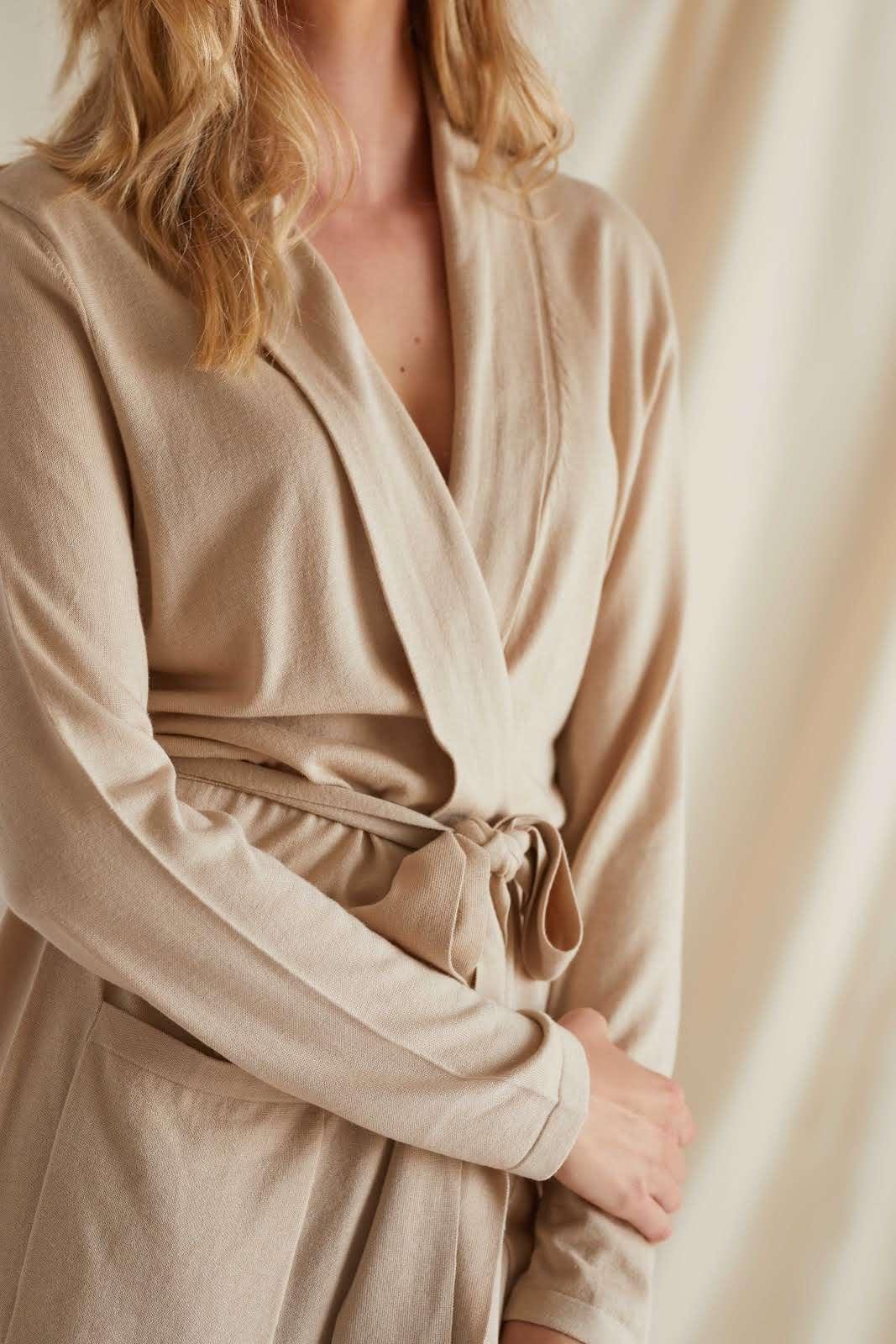 Fine Knit Robe