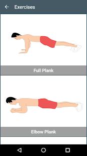 5 Min Plank Workout Free - náhled