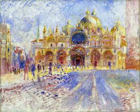 "Photo: Pierre-Auguste Renoir, ""Piazza San Marco a Venezia"""