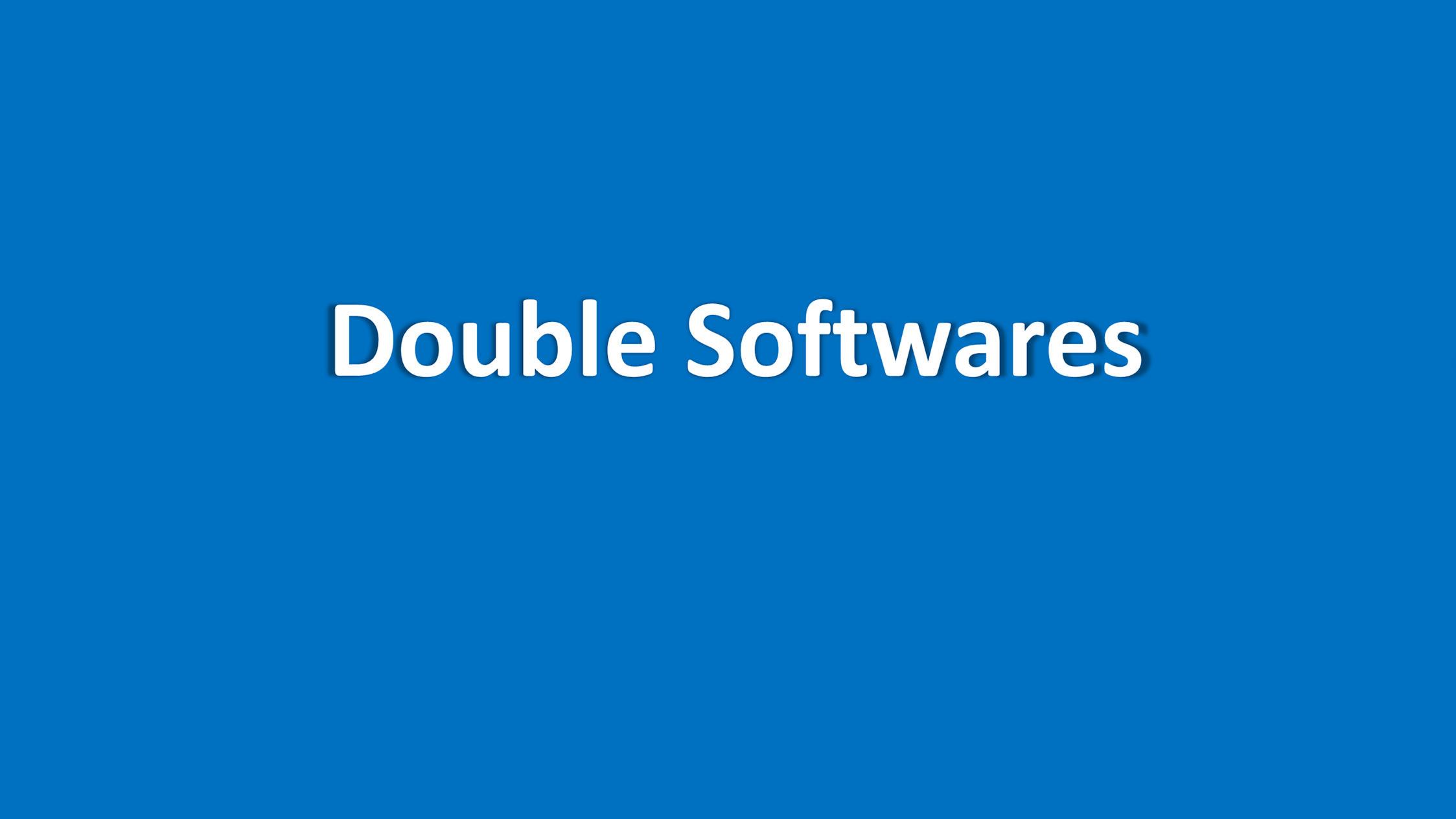Double Softwares