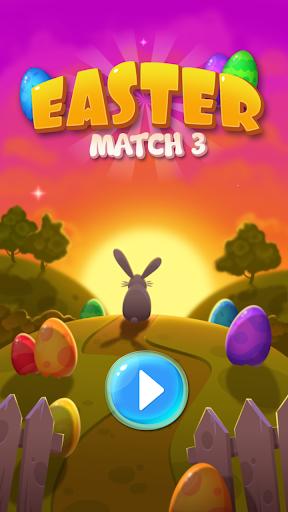 Easter Match 3: Chocolate Candy Egg Swipe King screenshots 2