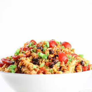 Easy Cold Taco Pasta Salad Made Healthy!.
