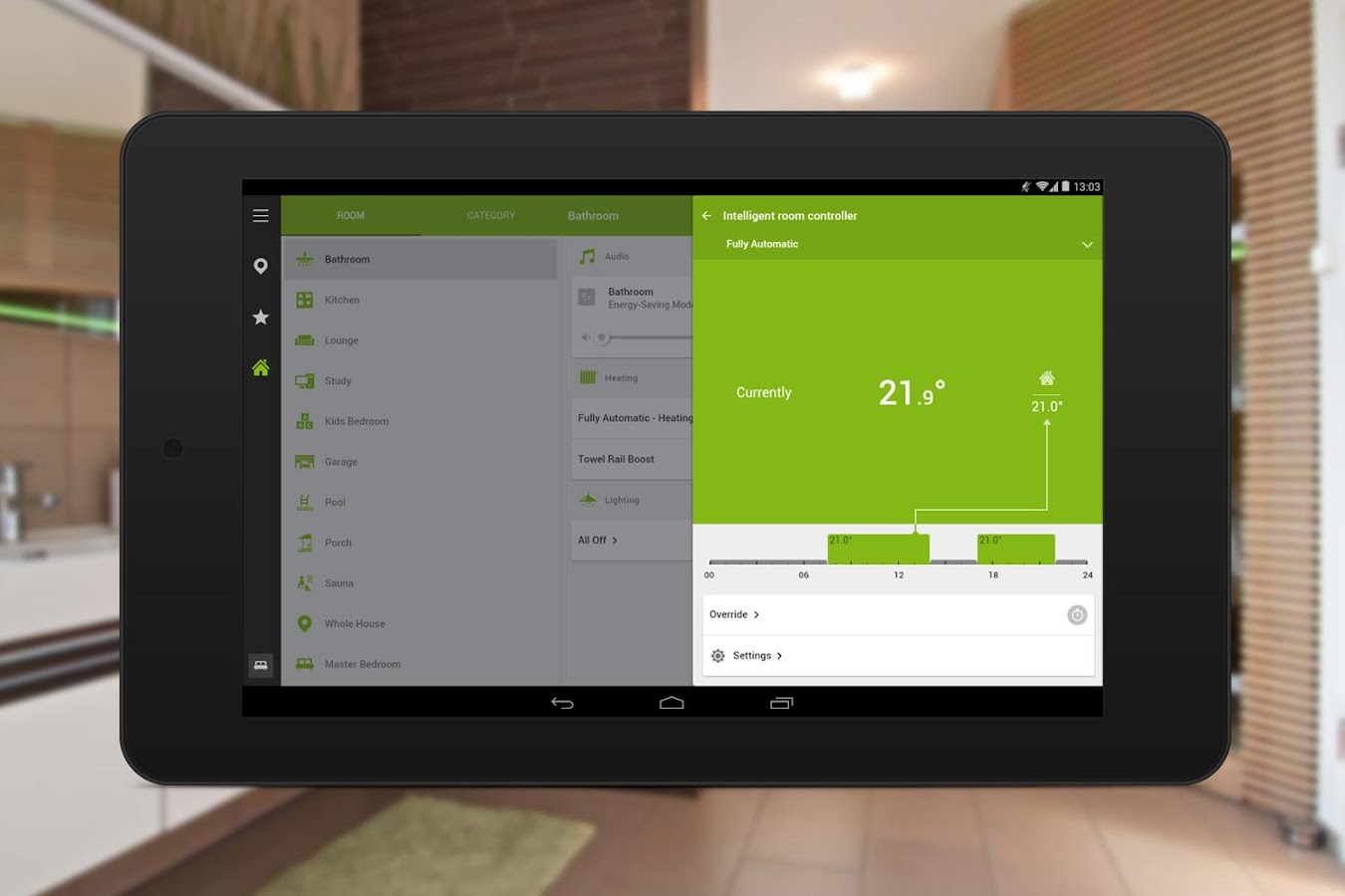 Loxone Smart Home- screenshot