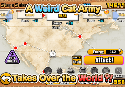 The Battle Cats Mod 8.3.0 Apk [Unlimited Money] 6
