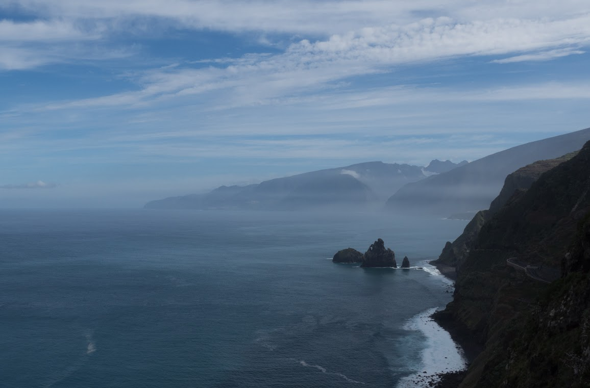 North shore of Madeira island