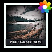 White Galaxy Theme For Xperia