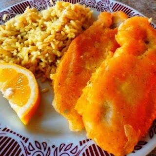 Pan Fried Fish Fillets.