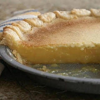 Lemon Chess Pie.
