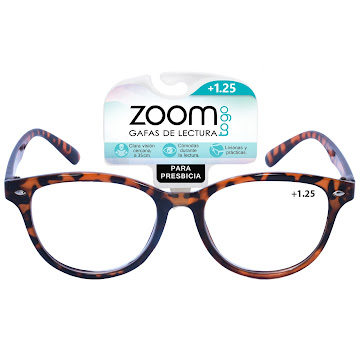 Gafas Zoom Togo Lectura Econo F 1 Estuche 1.25 x Und