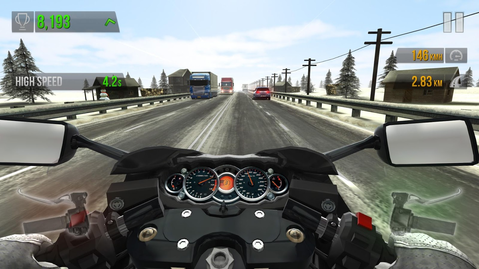 Traffic Rider- screenshot