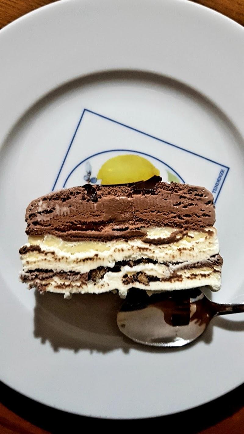 Viennetta su piatto. di Domenico Berardi