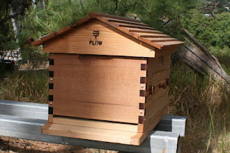 Photo: Flow hive entrance beekeeping review MahakoBees