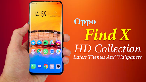 themes for oppo find x: oppo find x launcher screenshot 1