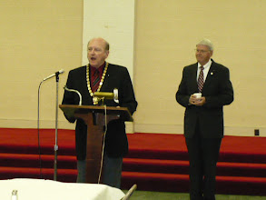 Photo: Ill Sam Vaughan Personal Representative and Ill Luigi Ammons Secretary