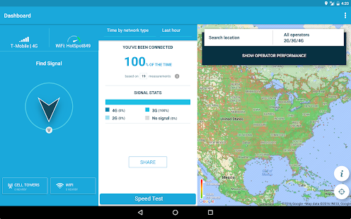 App 4G WiFi Maps & Speed Test. Find Signal & Data Now. APK for Windows Phone