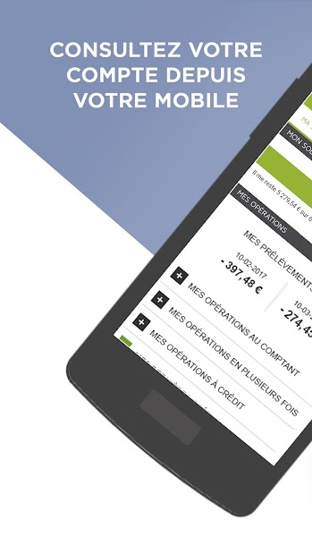 Banque Casino Android App Screenshot