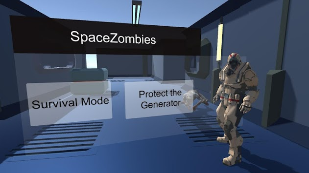 Space Zombie Shooter Action Game apk screenshot