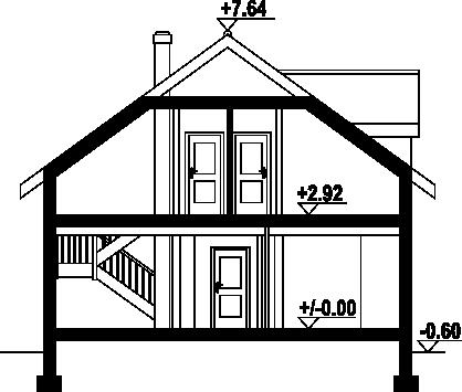 Osiek 55 dws - Przekrój