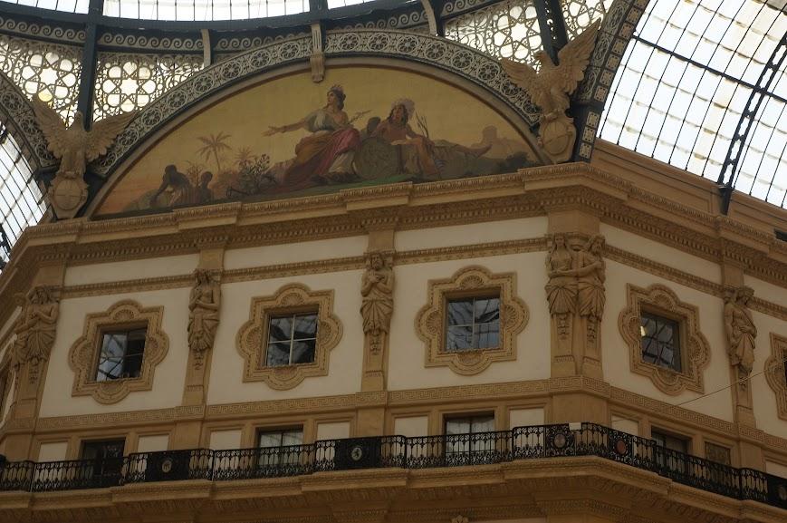 Galleria Vittorio Emanuele II in Milan, Italy (2015)