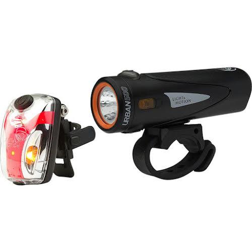 Light and Motion Urban 500 Headlight and Vis Micro II Taillight Set