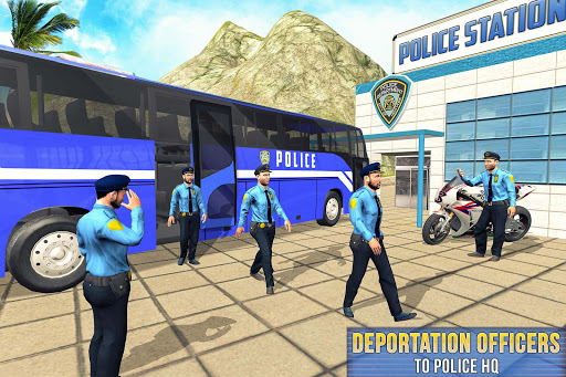 US Prisoner Police Bus: Bus Games 1.0 screenshots 6