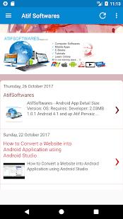 AtifSoftwares - náhled