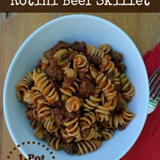 Rotini Beef Skillet