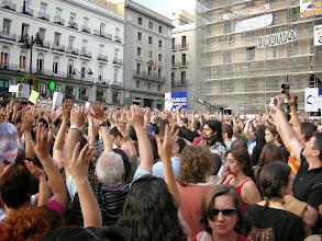 Photo: Puerta del Sol, Madrid, Movimiento 15-M, 21 de mayo de 2011, a1