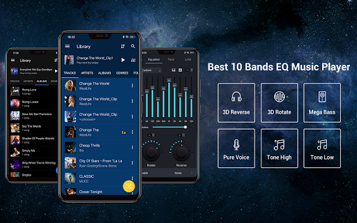 Screenshot for Music Player - MP3 Player & 10 Bands Equalizer in United States Play Store