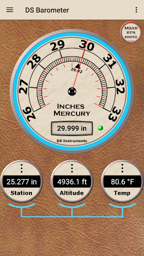 DS Barometer - Altimeter and Weather Information  screenshots 2