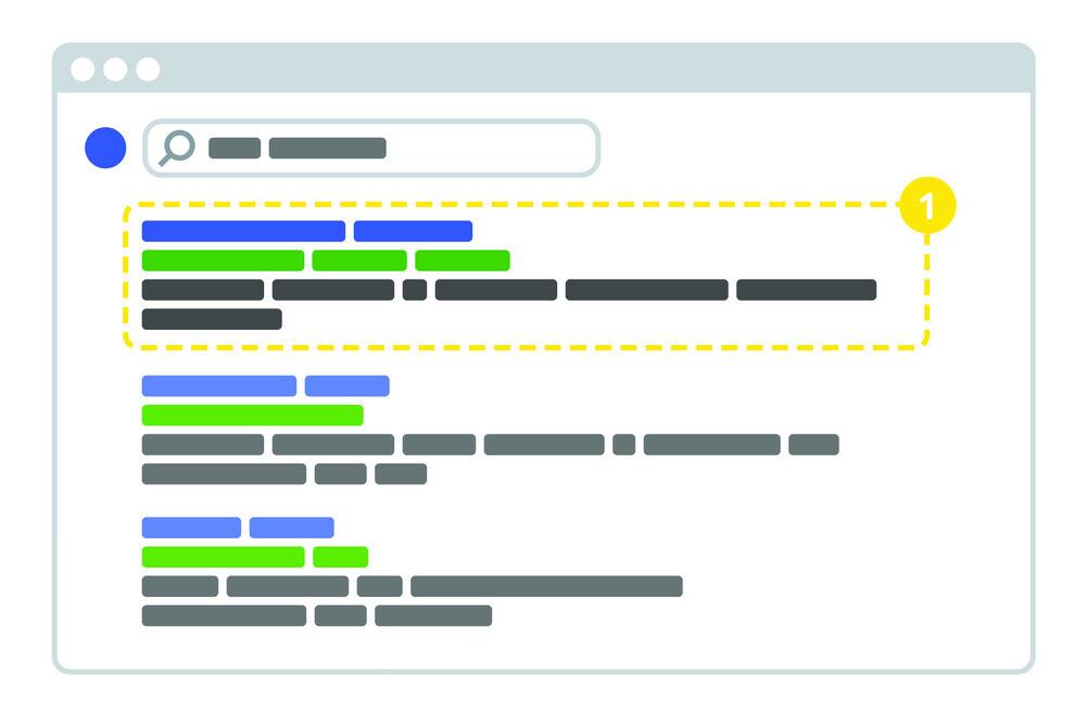 Ilustrasi Meta Deskripsi Untuk Konten SEO Friendly