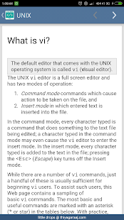Reference for Unix & Linux- screenshot thumbnail