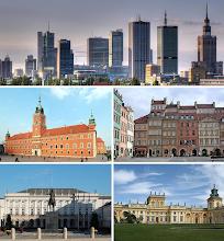 Photo: Poznávání Varšavy - virtuální prohlídka. Finanční centrum, Královský hrad, Náměstí starého města, Prezidentský palác, Palác Wilanów.