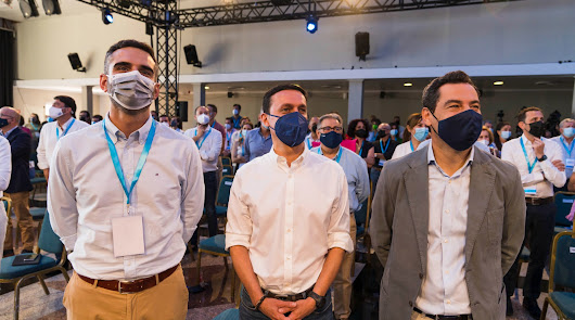 El PP andaluz confía a cuatro almerienses un papel activo en el próximo congreso