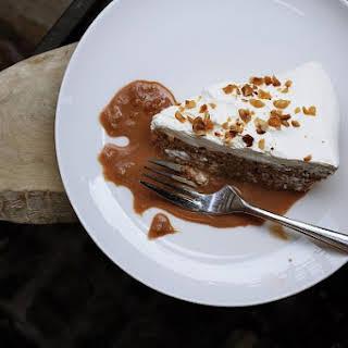 Nutella e Mascarpone Rum Cake.