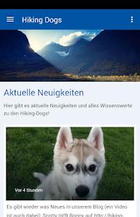 Hiking Dogs - náhled