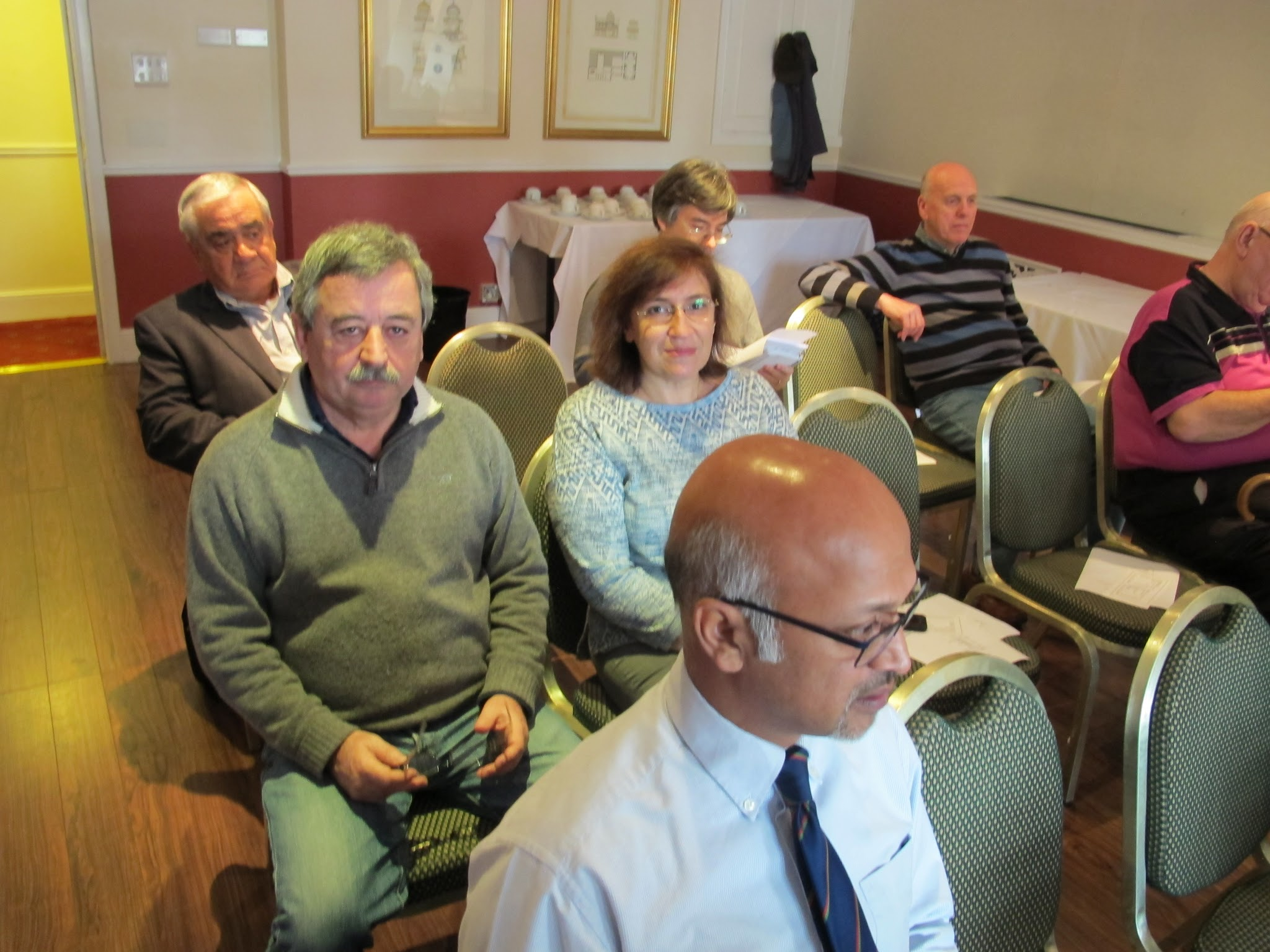 Photo: Waiting for the start of the AGM...